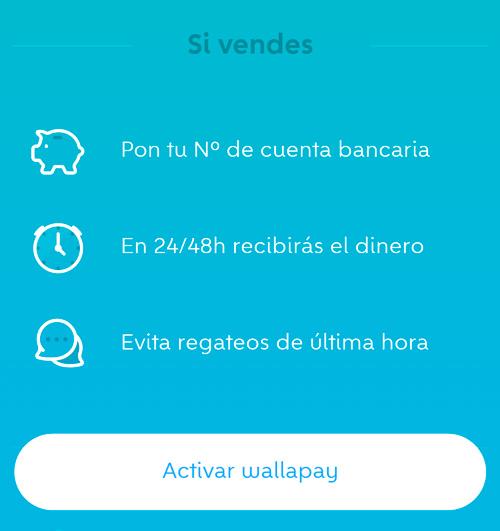 Vendedor Wallapay - El Servicio de pagos de Wallapop